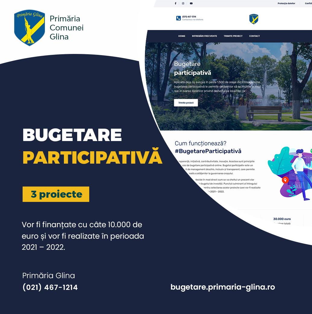 Bugetare participativă în Glina